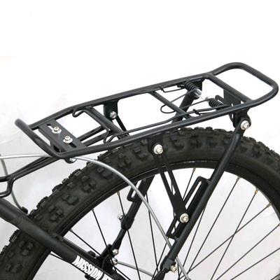 Велосипедный багажник под дисковый тормоз, алюминиевый
