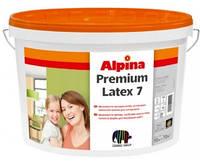 Краска латексная ALPINA PREMIUMLATEX 7 интерьерная, транспарентная (база В3), 9,4л