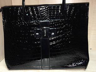 Сумка женская черная, синяя №816, фото 2