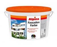 Краска дисперсионная ALPINA FASSADENFARBE фасадная, 10л