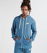 Толстовка мужская Nike Heritage Full Zip Hoodie 928431-474 Синий М