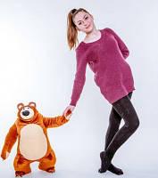 """Мягкая игрушка медведь Мишка из мф """"Маша и Медведь"""" 45 см"""