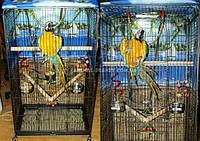 Вольер клетка для птиц и грызунов. Вольер для больших попугаев, хорьков, шиншилл, белок, енотов и др. №9
