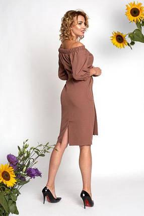 Платье 0362_5 бежевое, фото 2