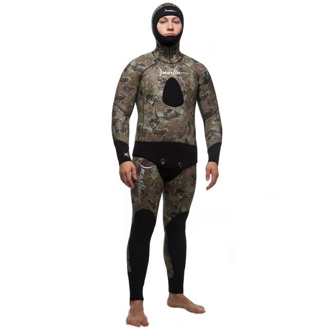 Мужской гидрокостюм Marlin Skilur Green 3мм