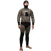Мужской гидрокостюм Marlin Skilur Green 3мм золотое напыление