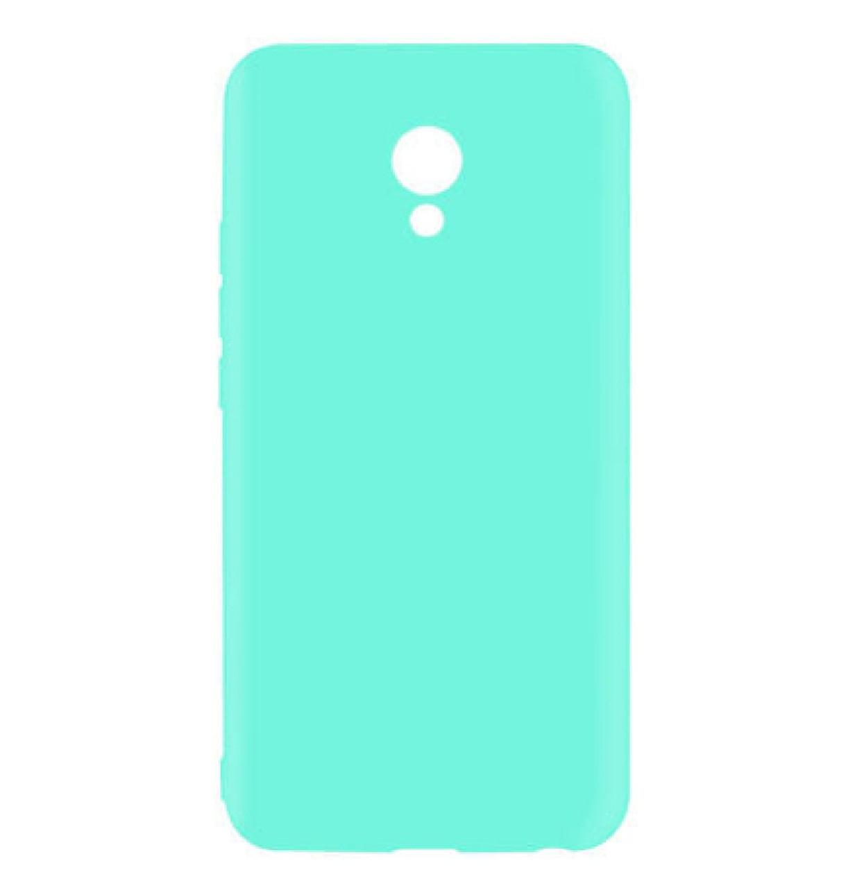 Силиконовый чехол Candy для Meizu M6s Turquoise