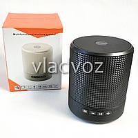 Портативная блютуз колонка акустика bluetooth для телефона мини с флешкой радио FM черная HF-Q6S