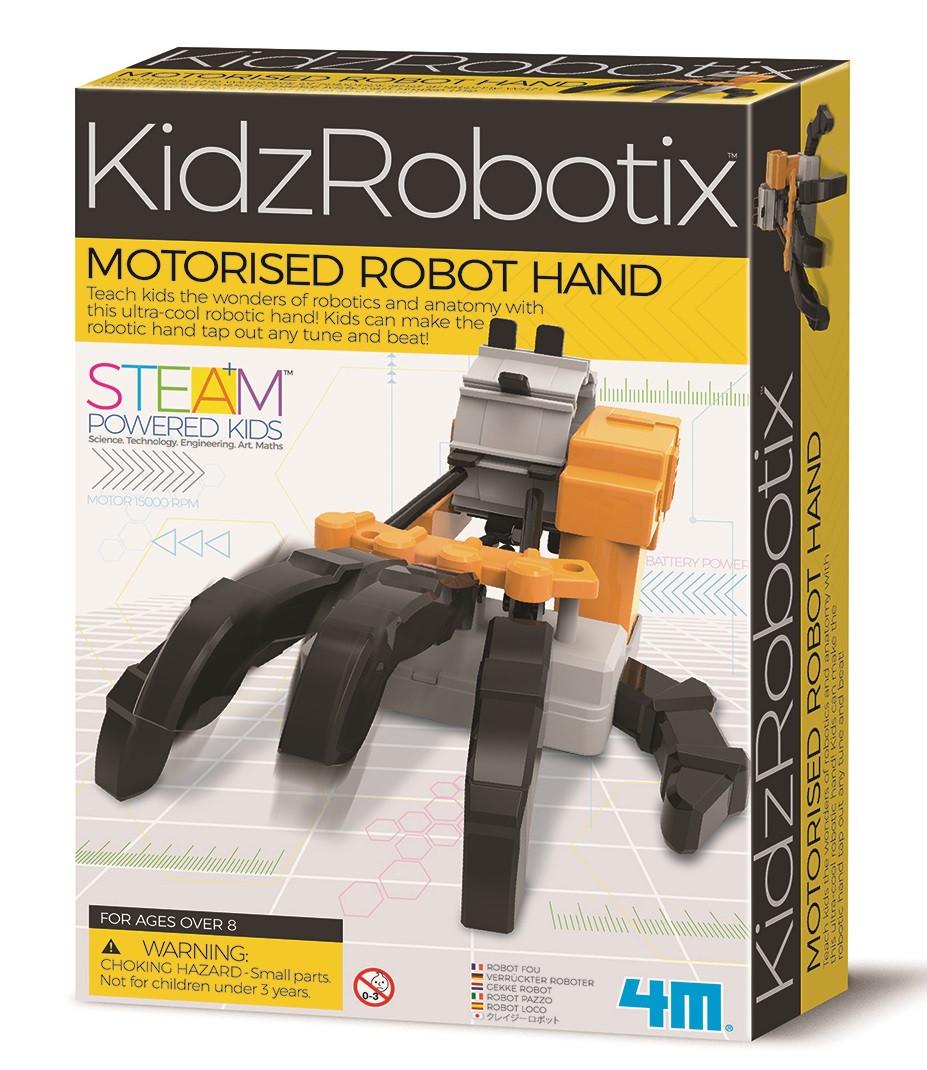 Набор для опытов Моторизированная роборука 4M (00-03407)