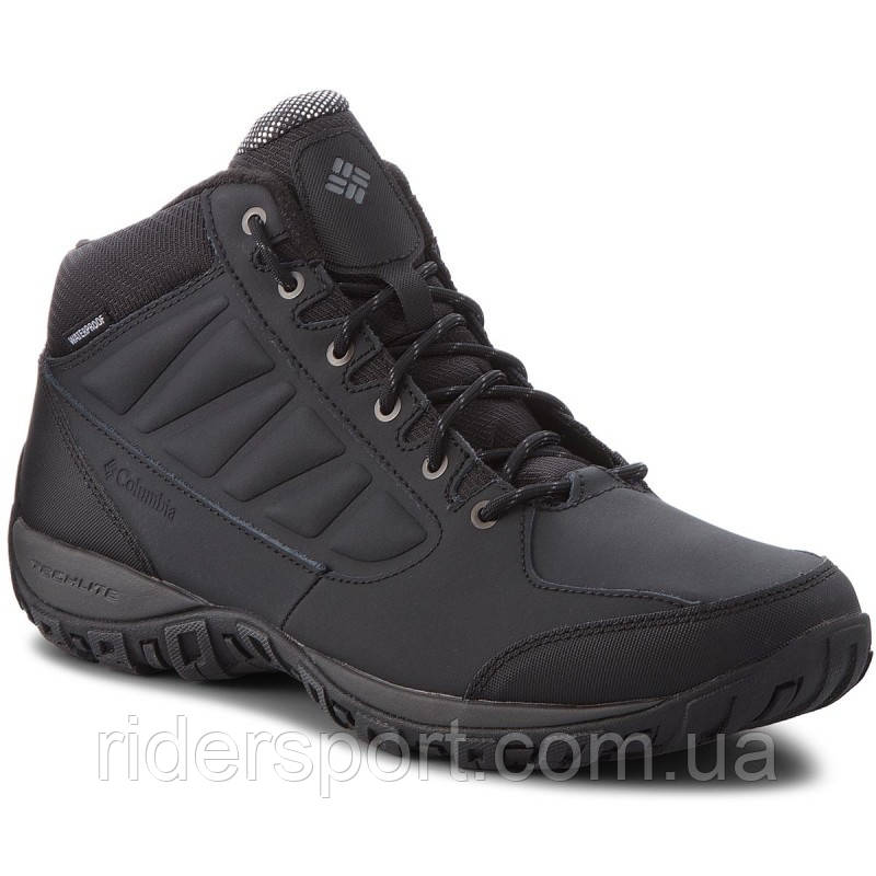 Мужские треккинговые ботинки Columbia Ruckel Ridge Chukka WP (BM5524-010)