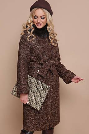 Женское зимнее пальто П-302-100 ЗМ Размеры 42-56, фото 2