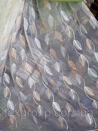 Тюль органза В-527, фото 2