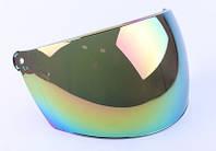Стекло шлема В201 тонированное (широкое)
