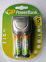 Зарядное устройство GP PB25 и 2 аккумулятора 2700
