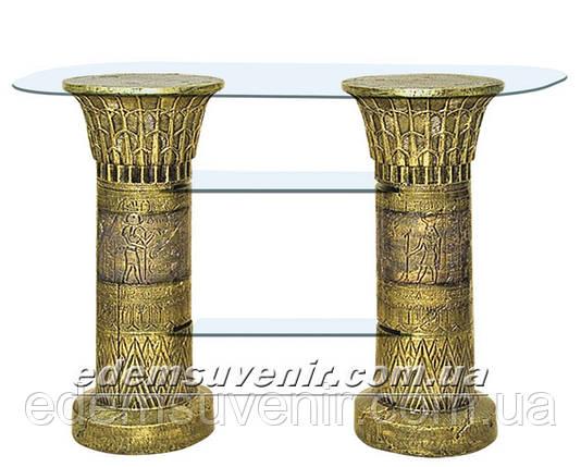 Стол журнальный Полка египетская, фото 2