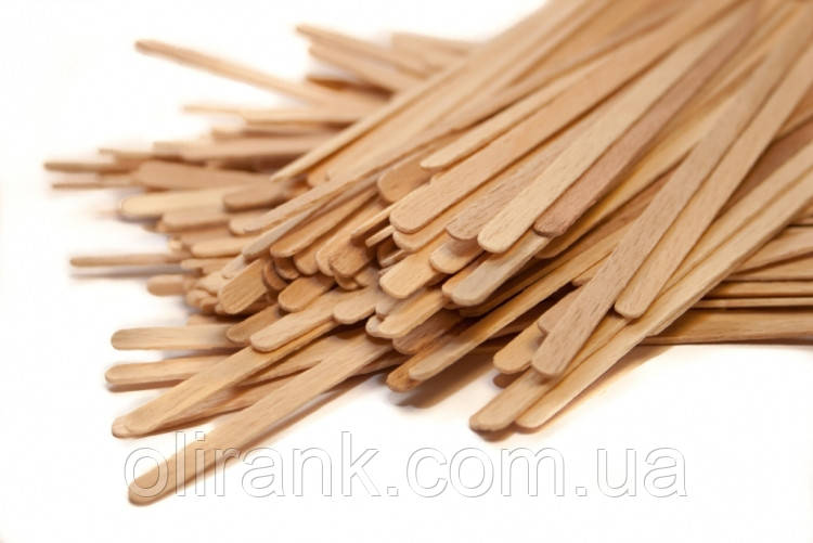 Мешалка деревянная 14см  (s1,2мм) ольха, 800шт/уп (40уп/меш)