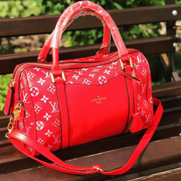 b9fc7654082d Женская сумочка Louis Vuitton (Луи Витон), красный цвет, цена 780 ...