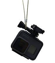 Страховочный металлический ремешок для GoPro (длина 30 см), фото 2
