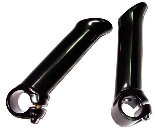 Рога Kalloy BE-302 диаметр - 22.2мм длина 120мм алюминий матово-черный