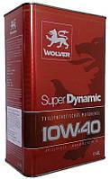 Моторное масло полусинтетика Wolver (Вольвер) Super Dynamic 10w40 4л