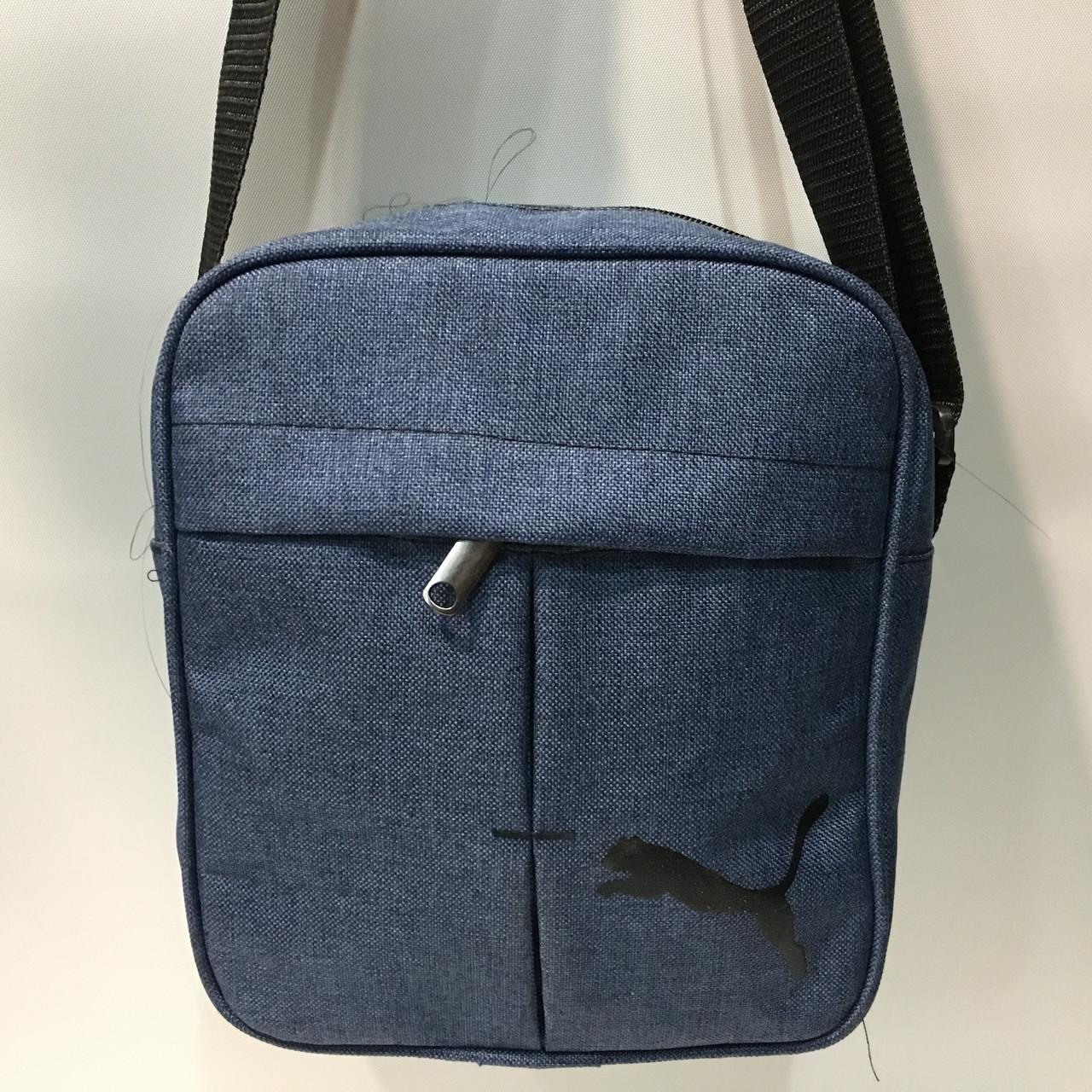 f1cbe3e629c0 Высококачественная мужская сумка через плече. Удобная, практичная сумка. Мужская  сумка (Puma)