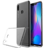Силиконовый чехол для Huawei P Smart Plus (Nova 3i), прозрачный