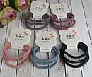 Плотные качественные резинки для волос цветные 60 шт/уп., фото 3