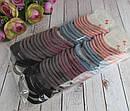 Плотные качественные резинки для волос цветные 60 шт/уп., фото 5