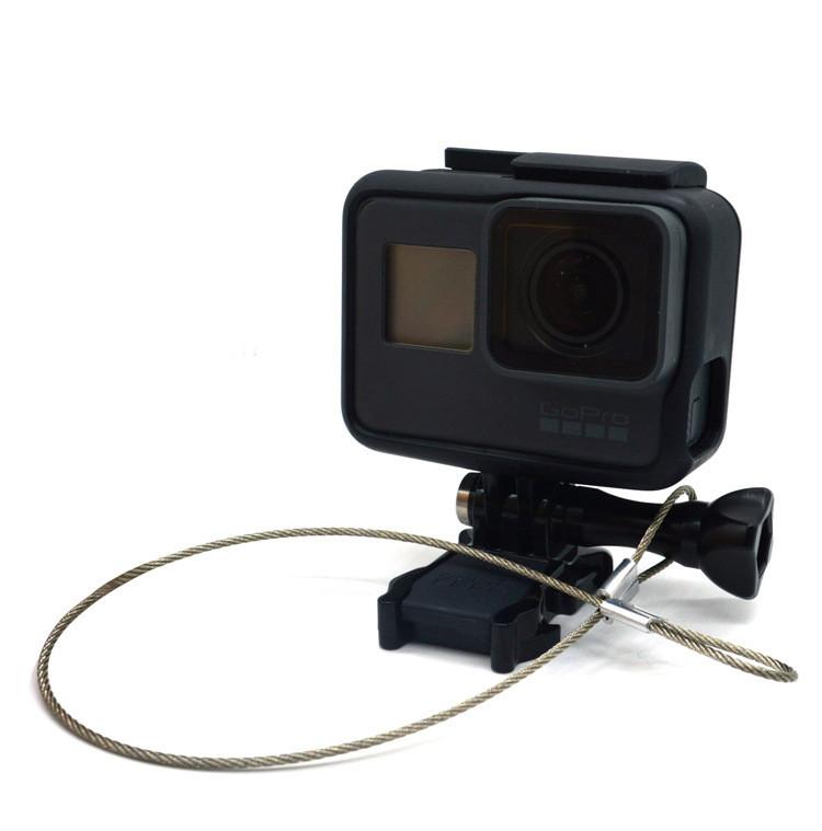 Страховочный металлический ремешок для GoPro (длина 30 см)