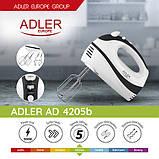 Миксер Adler AD 4205 black, фото 8