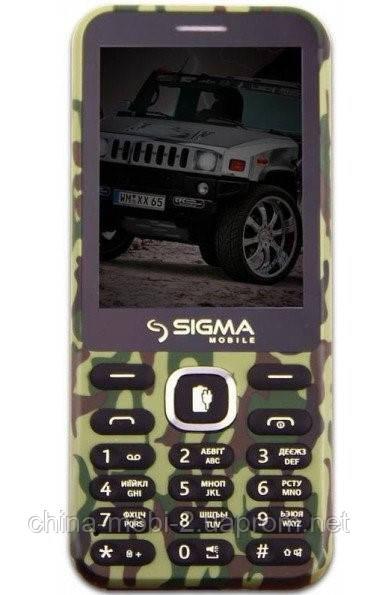 Телефон Sigma X-Style 31 Power 3100 mAh Khaki