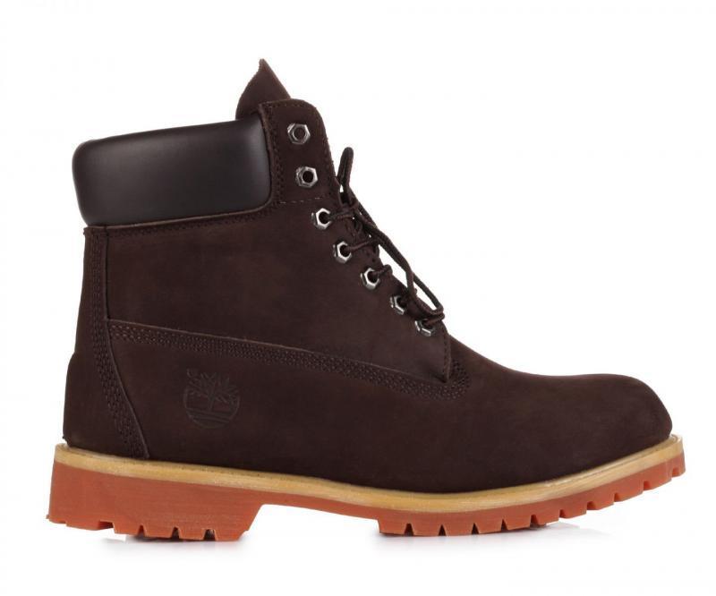 Мужские ботинки Timberland Classic 6 inch Boots Brown (Тимберленд) - коричневые