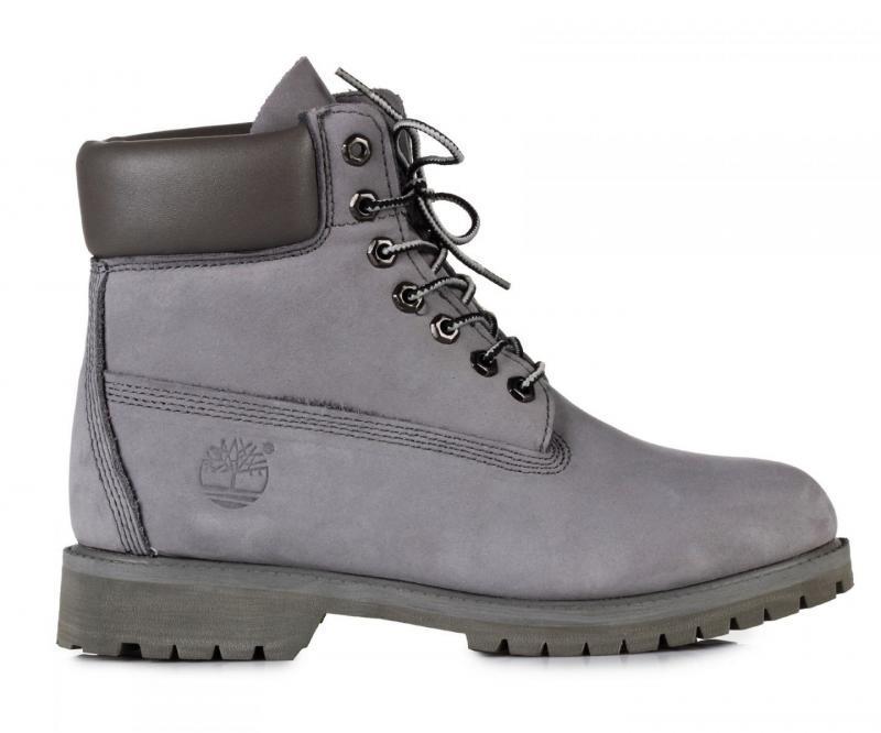 Мужские ботинки Timberland Classic 6 inch Boots Grey (Тимберленд) - серые