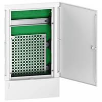 MIP312FU Щит Mini Pragma мультимедийный 3 ряди встроенный белая дверь Schneider Electric