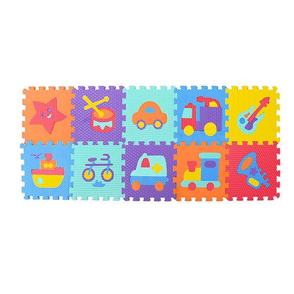 Коврик-пазл Разные темы Bambi M 3520 Разноцветный (intM 3520)