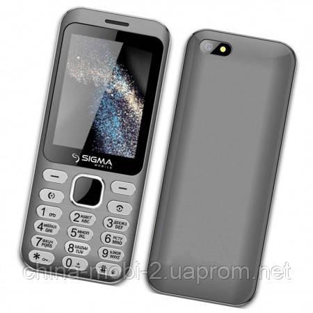Телефон Sigma X-Style 33 Steel Grey