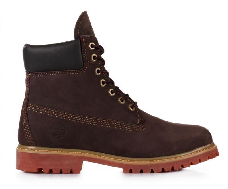 Мужские ботинки Timberland Classic 6 inch Brown Lite Edition (Тимберленд) - коричневые