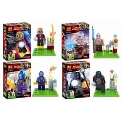 Конструктор BELA SUPER HEROES Супер Герои 10252-10255 4 вида (Аналог Lego Super Heroes )