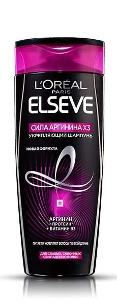 "Шампунь Loreal Elseve ""Сила аргинина X3"" (400мл.)"