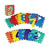 Коврик-пазл Цифры и фигуры Bambi M 2608 Разноцветный (intM 2608), фото 2
