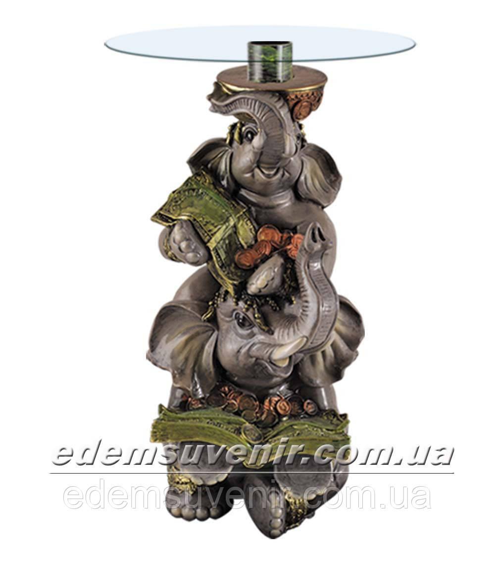 Стол журнальный Денежные слоны Б