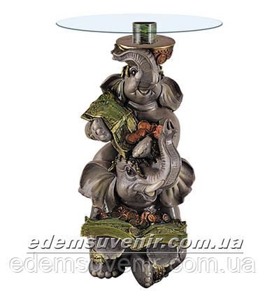 Стол журнальный Денежные слоны Б, фото 2