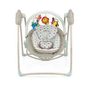 Кресло-качалка 2 в 1 Milly Mally Sweet Dreams Бежевые точки (0512)