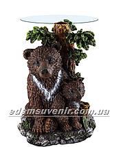Стол журнальный Медведь с медвежонком, фото 3