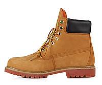 Оригинальные мужские ботинки Timberland Classic 6 inch Yellow Lite Edition (Тимберленд) - рыжие
