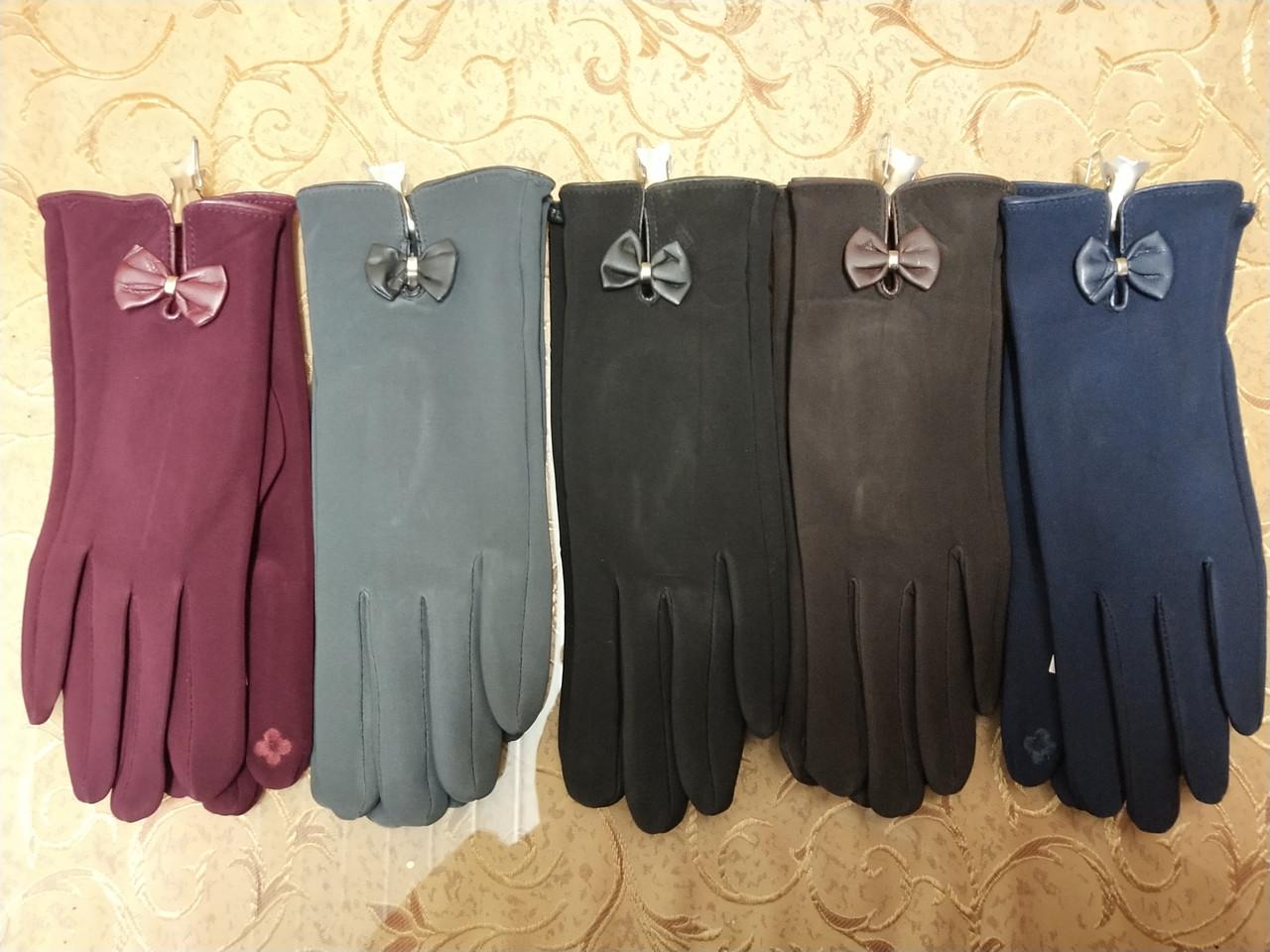 ЭЛАСТИК Перчатки с сенсором для работы на телефоне плоншете/Сенсорны женские перчатки ANJELA оптом