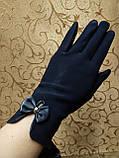ЭЛАСТИК Перчатки с сенсором для работы на телефоне плоншете/Сенсорны женские перчатки ANJELA оптом, фото 2
