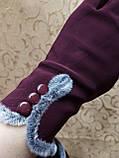 ЭЛАСТИК Перчатки с сенсором для работы на телефоне плоншете/Сенсорны женские перчатки ANJELA оптом, фото 3