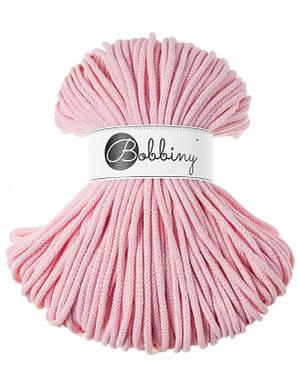 Хлопковый шнур Bobbiny 5 мм, Нежный розовый