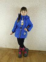 "Демисезонная куртка для девочки ""Модница"" 28 (92) бренд SVik"